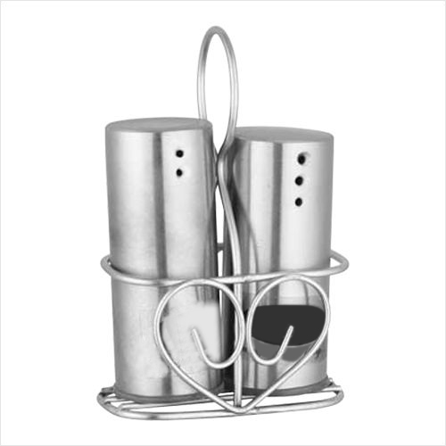 Stainless Steel Salt and Pepper Vega