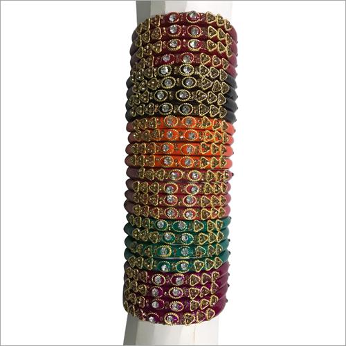 Fashion Stone Studded Plastic Bracelets