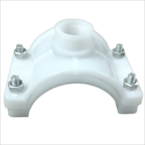 PVC White Saddle