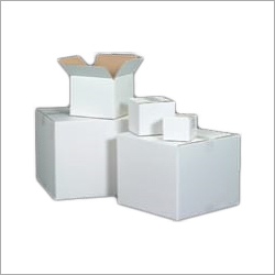 Square White Packaging Box