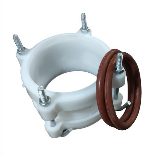 White PVC D Joint