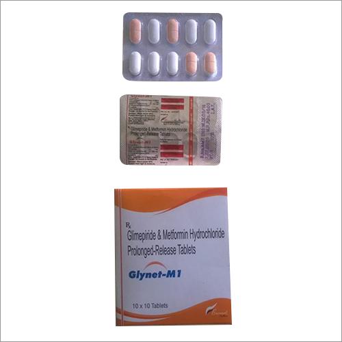 GLIMEPIRIDE +METFORMIN HCL.