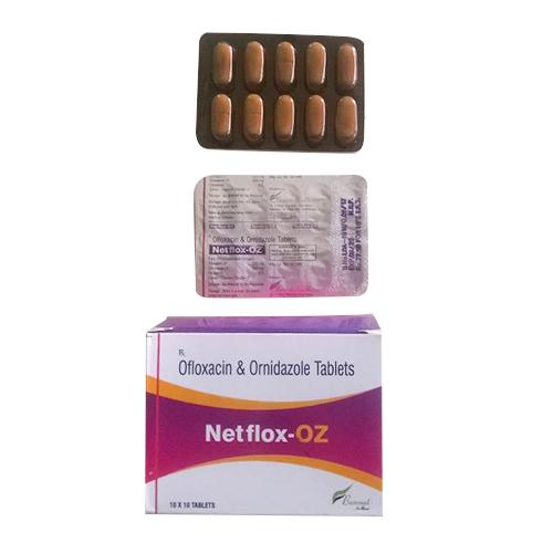 OFLOXACIN + ORNIDAZOLE