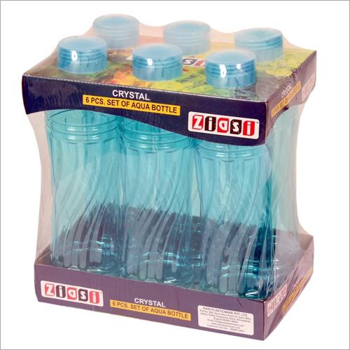 6 Pcs Plastic Pet fridge Bottle Set