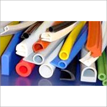 Solid Silicone Rubber Extrusion