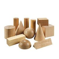 Wooden Geometric Solid