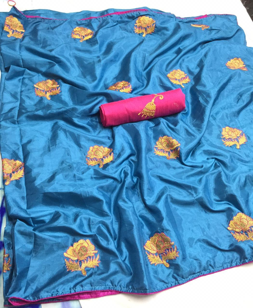 Fancy Paper Silk Saree