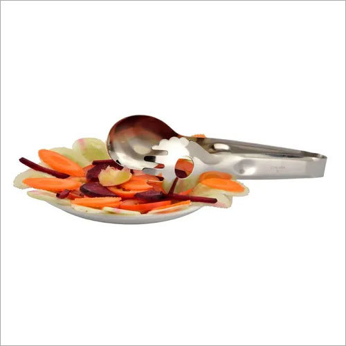 SALAD TONG WITH THUMB MIRROR B