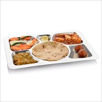 Square Compartment Divided Dinner Plate