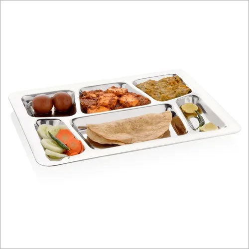 Compartment Dinner Plate