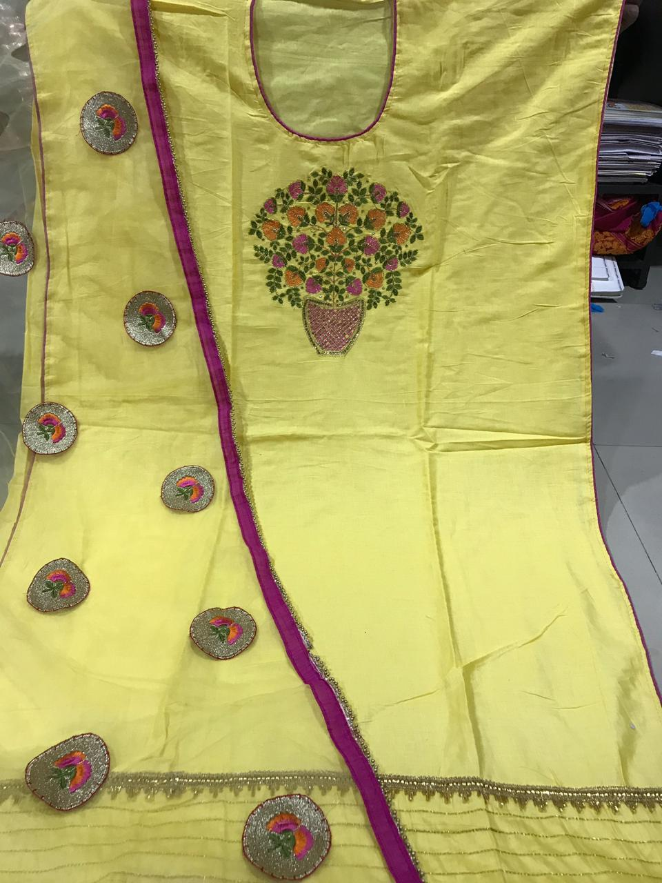 Exclusive Patterns Cotton Dress Material