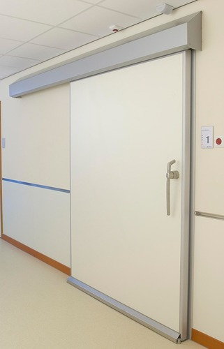Fully Automatic Sliding Door