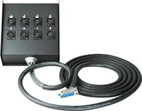 DB25 25-Pin D Sub Male to 8 XLR