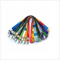 Colored Card Lanyard