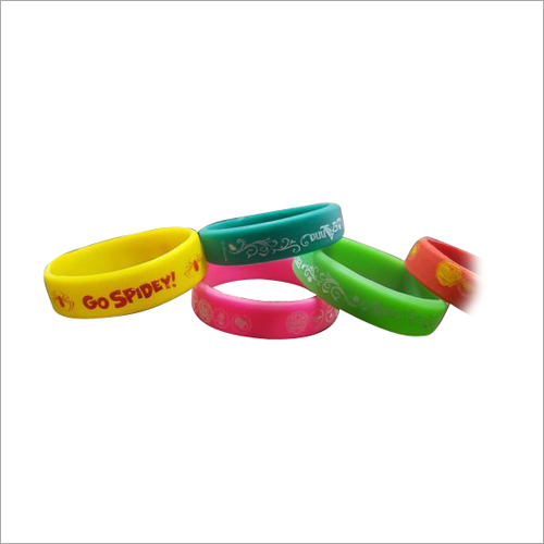 Rubber Printed Wristband