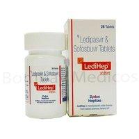 Ledipasvir And Sofosbuvir Tablet
