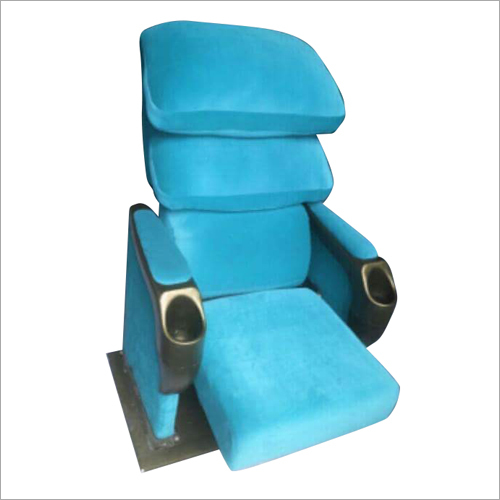 Theater Blue Folding Chair