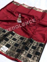 Ladies Pure Cotton Silk Saree