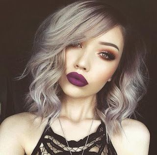 Body Wave Silver Gray Bob