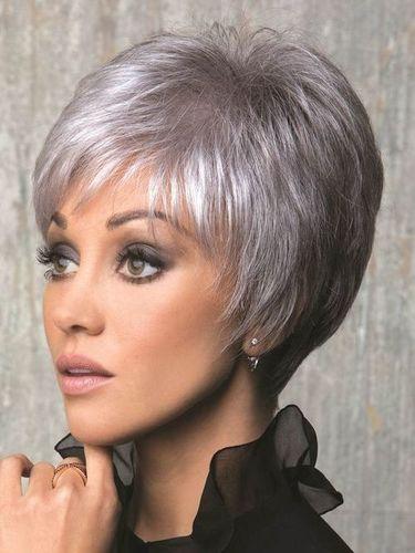 Gray Short Wig