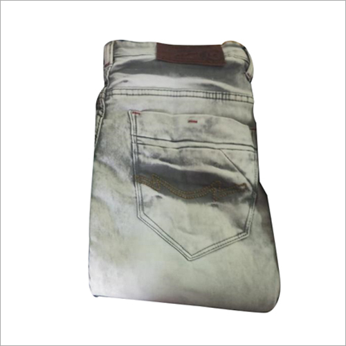 Mens Slim Fit Faded Jeans