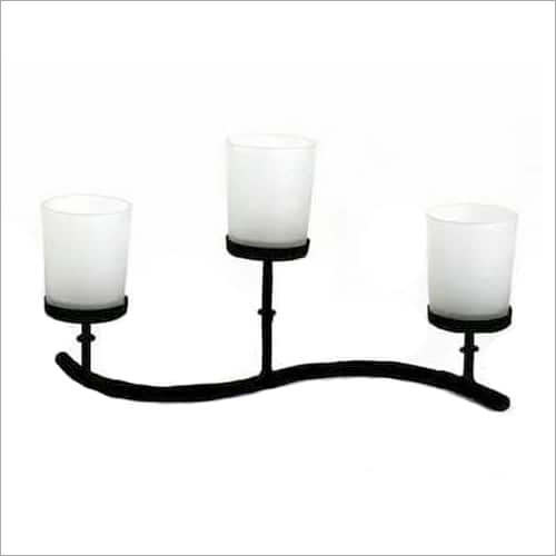 3 Metal Candle Holder