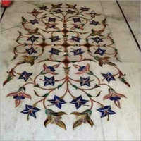 Inlay Work Marble Flooring