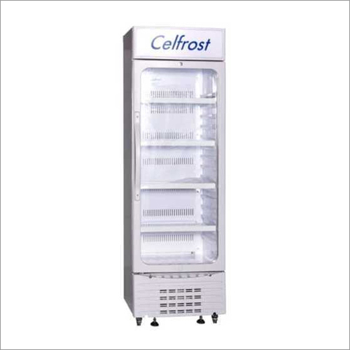 White Vertical Visi Cooler