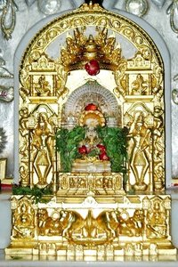 Gold Work in Jain Derasar