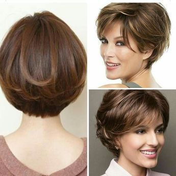 Natural Brown Mix Bob Wig