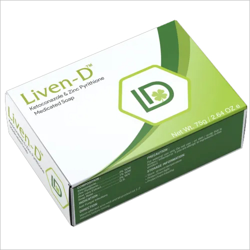 Liven D Anti-Fungal Medicated Soap