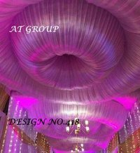 Tent ceiling draping