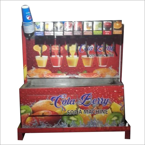 Flavored Soda Vending Machine