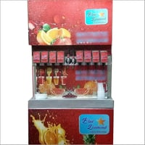 8 Flavor Soda Fountain Machine