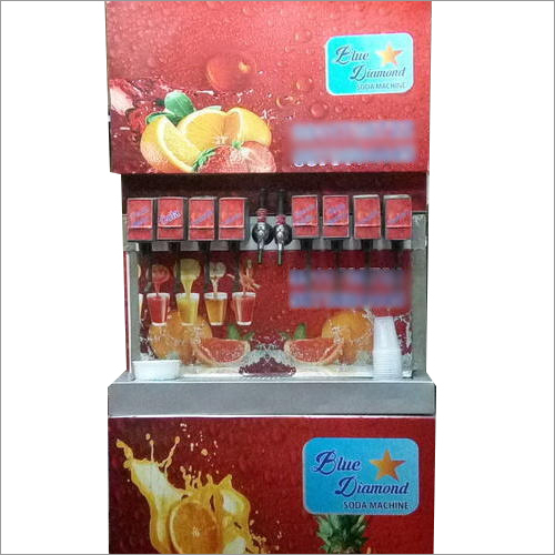Mobile Cold Soda Fountain Machine