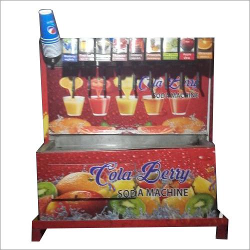 9+1 Flavor Soda Fountain Machine