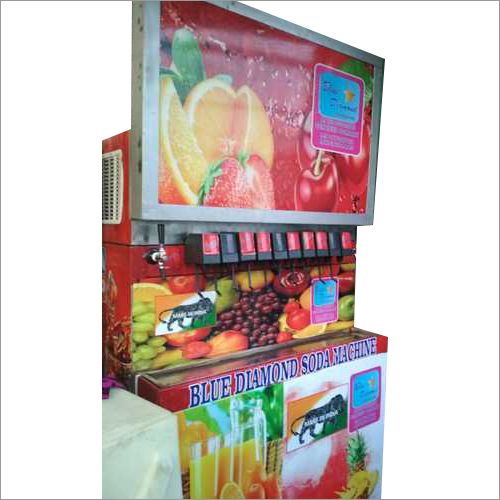 10+2 Soda Fountain Machine