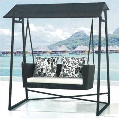 Designer Wicker Swing