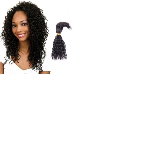 Kinky Remy Weft Hair Extensions
