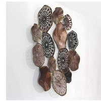 Multicolor Mix Metal Circles Wall Hangings