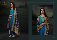 Fancy Suits With Jacquard Dupatta