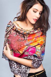 Pure Silk Digital Prints Shawls