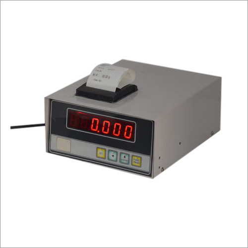 Weighing Scale Indicator Cum Printer