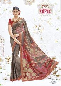 Georgette Printed Sarees