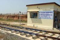 Electronic Rail In Motion Weigh Bridge