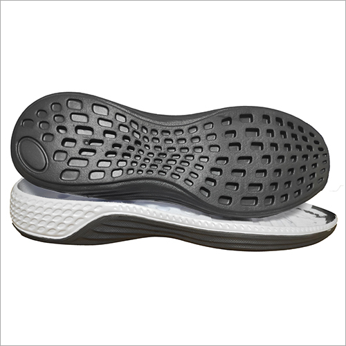 Black Eva Sport Shoe Sole