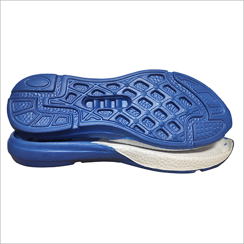 Blue Eva Shoe Sole