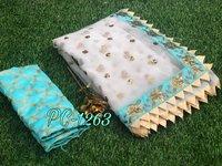 Printed Banglori Silk Saree
