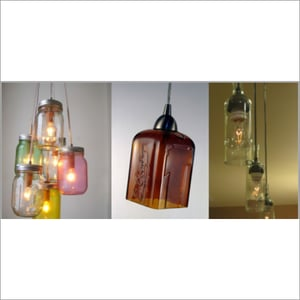 Bottle Wire Hanging System Light