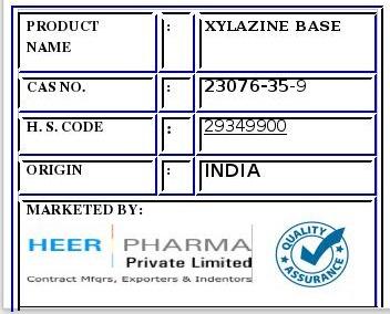Xylazine Base